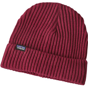 Patagonia Fishermans Rolled Beanie Oxide Red